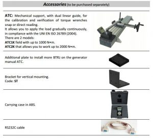 Desktop koppelmeter BTR2 0.5Nm tot 2000Nm I