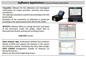 Desktop koppelmeter BTR2 0.5Nm tot 2000Nm