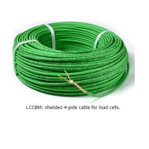 Shielded 4x0,34mmq cable for moving applications.