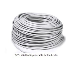 Shielded 6x0,25 mm² cable (suitable for Ex zones)