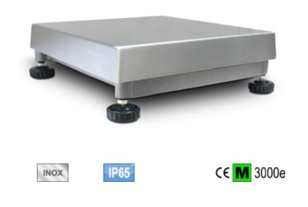 PBI SERIES SINGLE CELL RVS WEEGPLATFORMS 6 tot 300KG